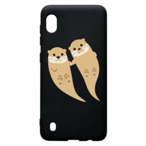 Etui na Samsung A10 Romantic Otters