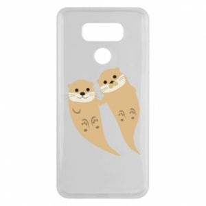 Etui na LG G6 Romantic Otters