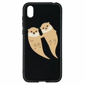 Etui na Huawei Y5 2019 Romantic Otters