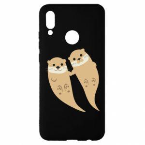Etui na Huawei P Smart 2019 Romantic Otters