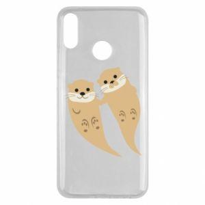 Etui na Huawei Y9 2019 Romantic Otters