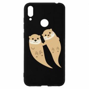 Etui na Huawei Y7 2019 Romantic Otters