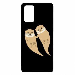 Etui na Samsung Note 20 Romantic Otters