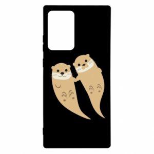 Etui na Samsung Note 20 Ultra Romantic Otters