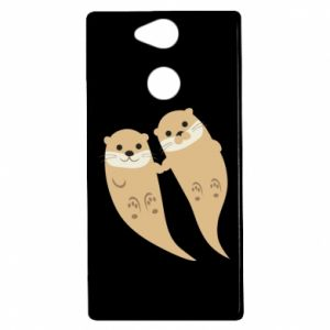 Etui na Sony Xperia XA2 Romantic Otters