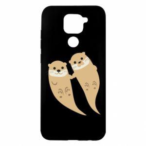 Etui na Xiaomi Redmi Note 9/Redmi 10X Romantic Otters