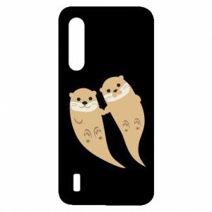 Etui na Xiaomi Mi9 Lite Romantic Otters
