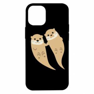 Etui na iPhone 12 Mini Romantic Otters