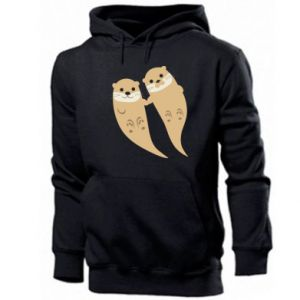 Bluza z kapturem męska Romantic Otters