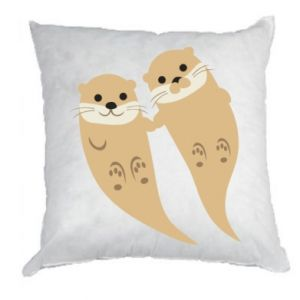 Poduszka Romantic Otters