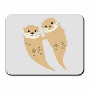 Podkładka pod mysz Romantic Otters