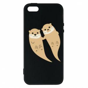 Etui na iPhone 5/5S/SE Romantic Otters