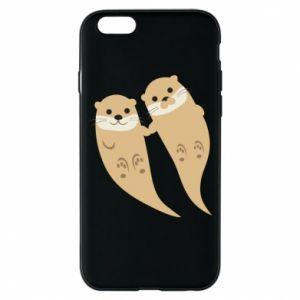 Etui na iPhone 6/6S Romantic Otters