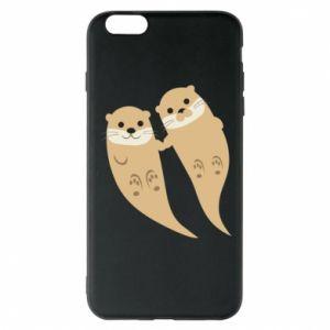 Etui na iPhone 6 Plus/6S Plus Romantic Otters