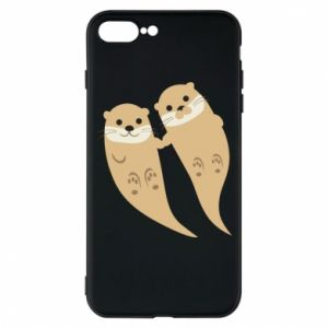 Etui do iPhone 7 Plus Romantic Otters