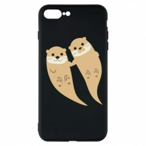Etui na iPhone 8 Plus Romantic Otters