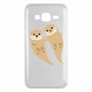 Etui na Samsung J3 2016 Romantic Otters