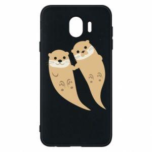 Etui na Samsung J4 Romantic Otters