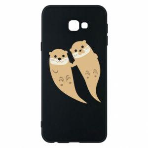 Etui na Samsung J4 Plus 2018 Romantic Otters