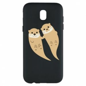 Etui na Samsung J5 2017 Romantic Otters
