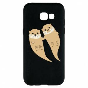 Etui na Samsung A5 2017 Romantic Otters