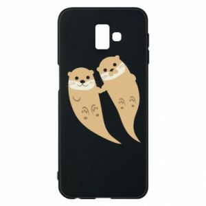 Etui na Samsung J6 Plus 2018 Romantic Otters