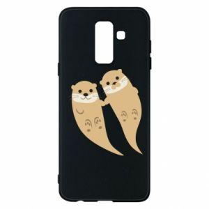 Etui na Samsung A6+ 2018 Romantic Otters