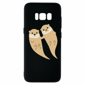 Etui na Samsung S8 Romantic Otters