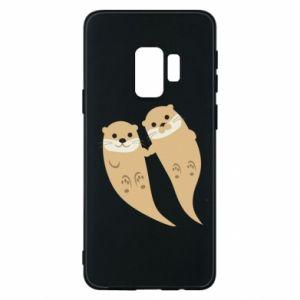 Etui na Samsung S9 Romantic Otters
