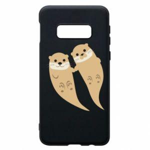 Etui na Samsung S10e Romantic Otters
