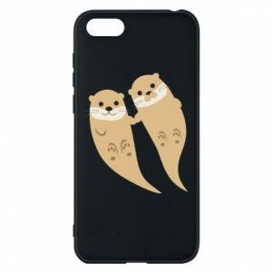 Etui na Huawei Y5 2018 Romantic Otters