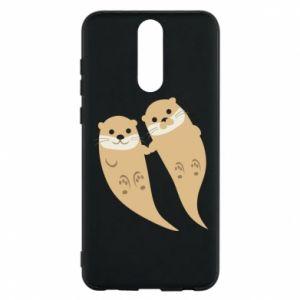 Etui na Huawei Mate 10 Lite Romantic Otters