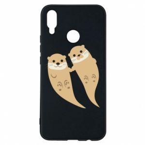 Etui na Huawei P Smart Plus Romantic Otters