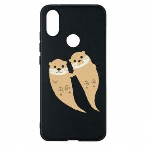 Etui na Xiaomi Mi A2 Romantic Otters
