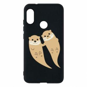 Etui na Mi A2 Lite Romantic Otters