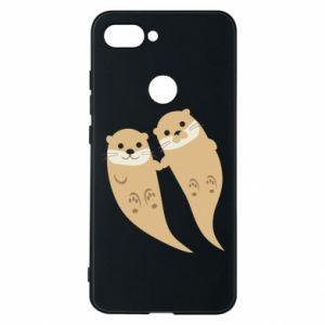 Etui na Xiaomi Mi8 Lite Romantic Otters