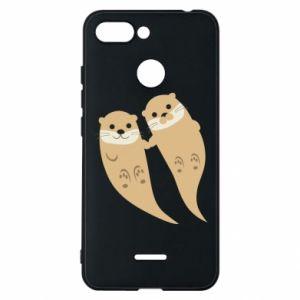Etui na Xiaomi Redmi 6 Romantic Otters
