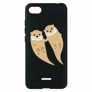 Etui na Xiaomi Redmi 6A Romantic Otters