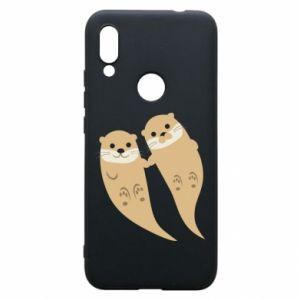 Etui na Xiaomi Redmi 7 Romantic Otters