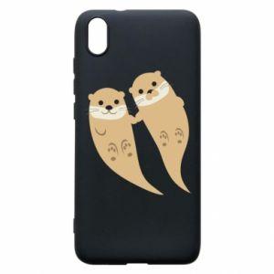 Etui na Xiaomi Redmi 7A Romantic Otters