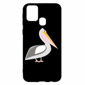 Etui na Samsung M31 Romantyczny Pelikan