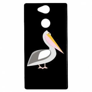 Etui na Sony Xperia XA2 Romantyczny Pelikan
