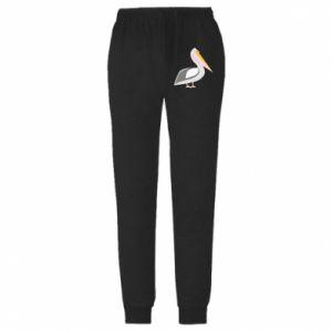 Spodnie lekkie męskie Romantyczny Pelikan