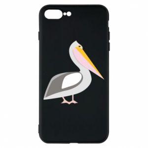 Etui na iPhone 8 Plus Romantyczny Pelikan