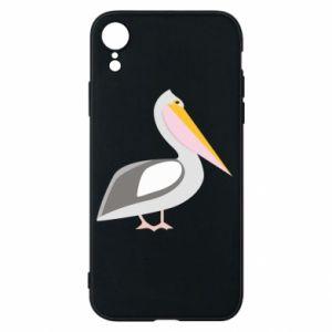 Etui na iPhone XR Romantyczny Pelikan