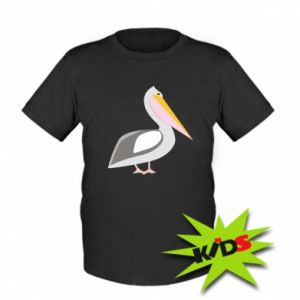 Kids T-shirt Romantic Pelican
