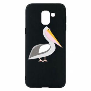 Etui na Samsung J6 Romantyczny Pelikan