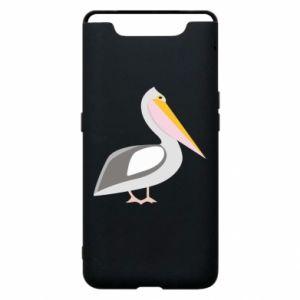 Etui na Samsung A80 Romantyczny Pelikan