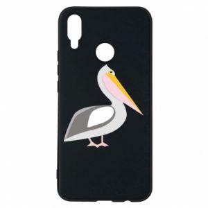 Etui na Huawei P Smart Plus Romantyczny Pelikan