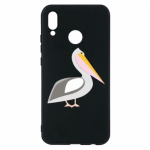 Etui na Huawei P20 Lite Romantyczny Pelikan